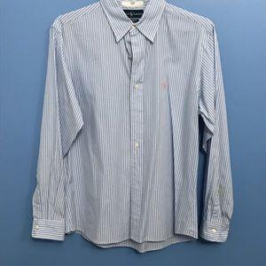 Ralph Lauren Stripes Burton Down Shirt